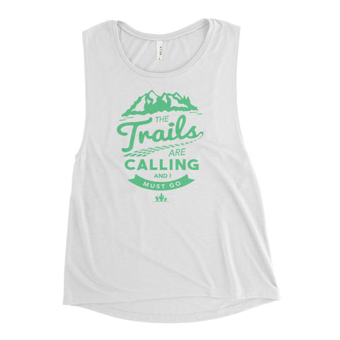 Trails Are Calling Ladies' Muscle Tank