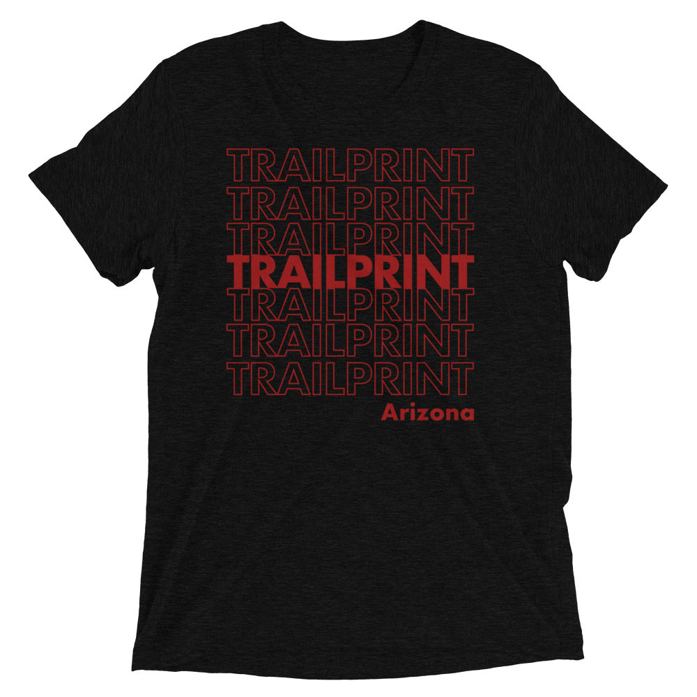Trail Print (Red)