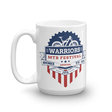 Warriors MTB Festival 2019 Mug