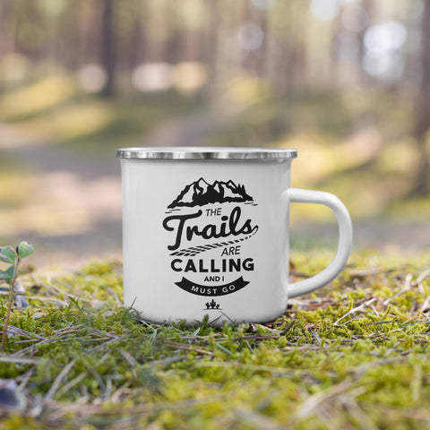 The Trails Are Calling Camping Mug