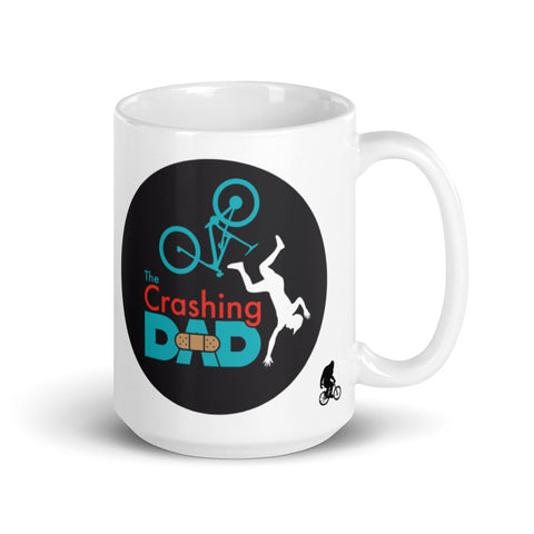 The Crashing Dad Logo Mug