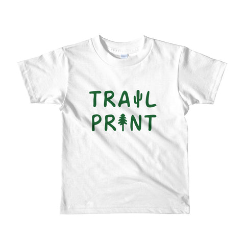 Trail Print Forest Kids