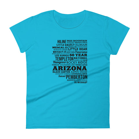 Happy Trails Women's short sleeve t-shirt
