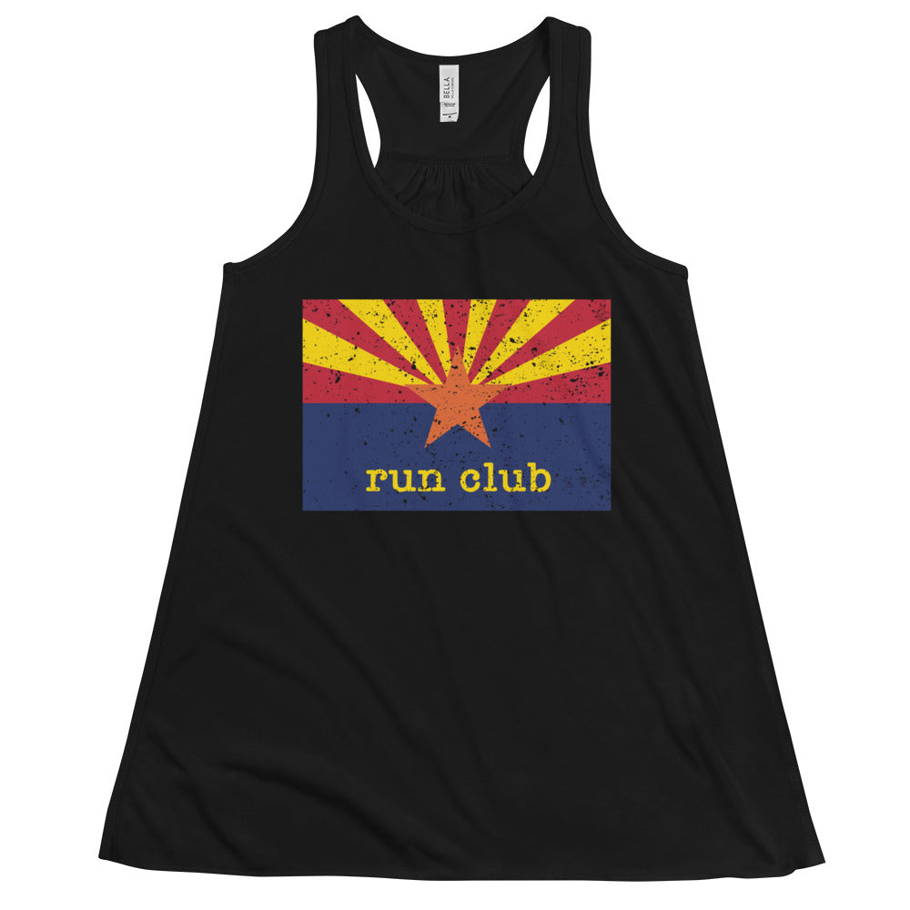 Run Club Flowy Racerback Tank