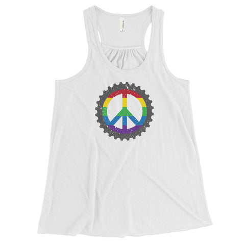 Love Wins Women's Flowy Racerback Tank