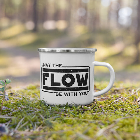 May The Flow Be With You Camping Mug