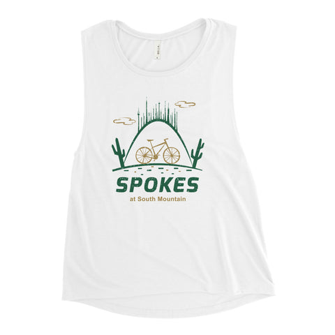 Spokes Muscle Tank (Color)