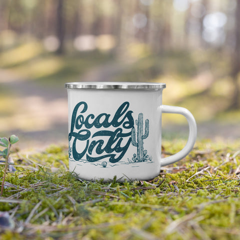 Locals Only Camping Mug