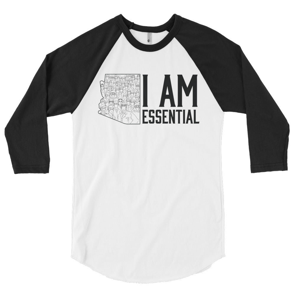I AM ESSENTIAL 3/4 SLEEVE