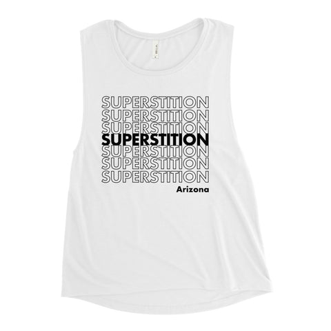 Superstition Mtns. Muscle Tank (BLK)