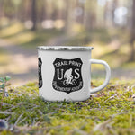 Department of Adventure (BLK) Camping Mug