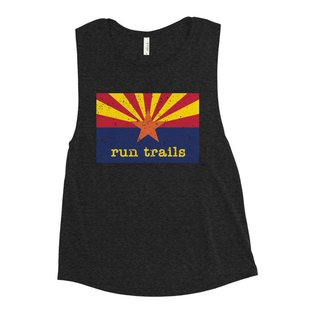 Run Trails Muscle Tank