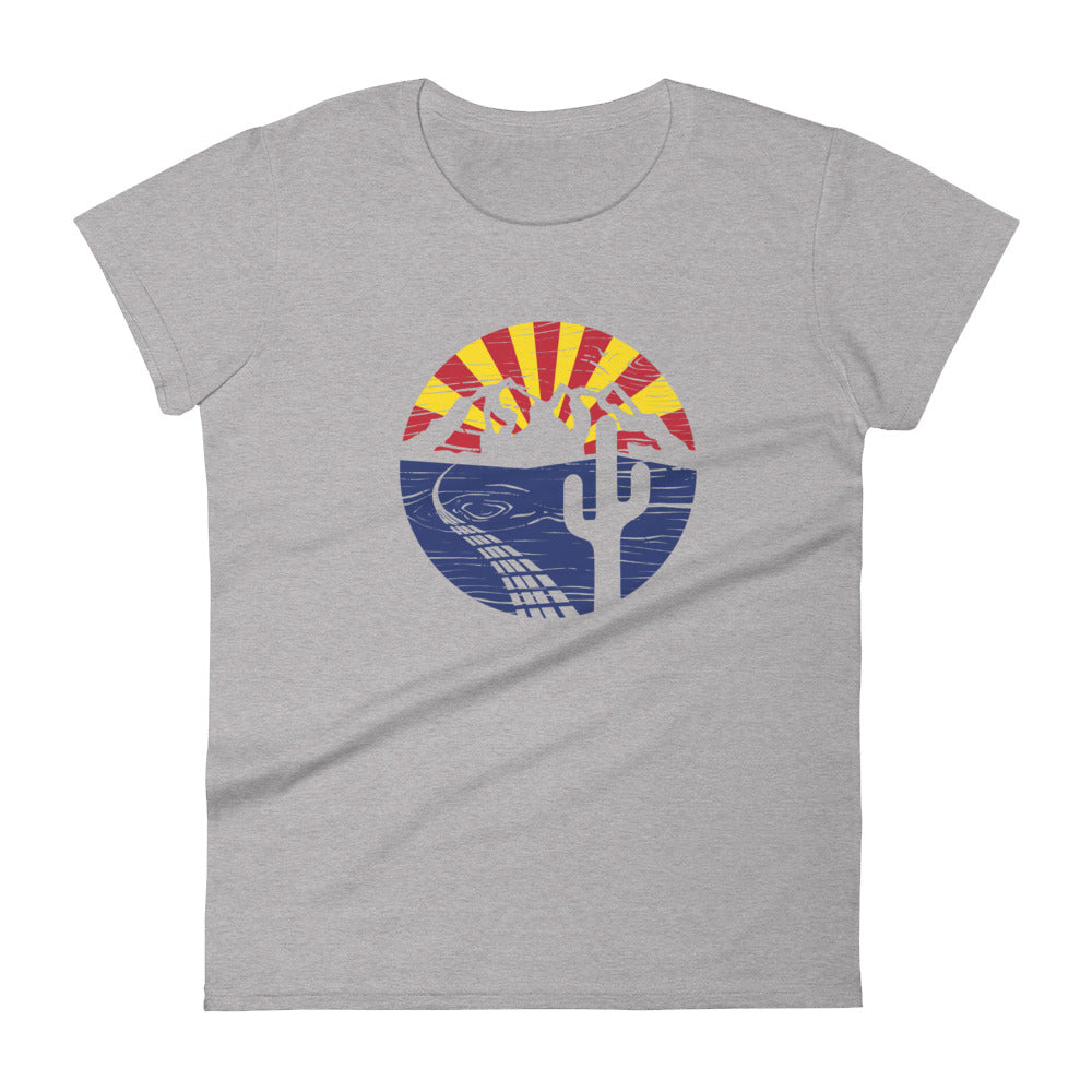 From Flagstaff to Phoenix to Tucson Women's short sleeve t-shirt