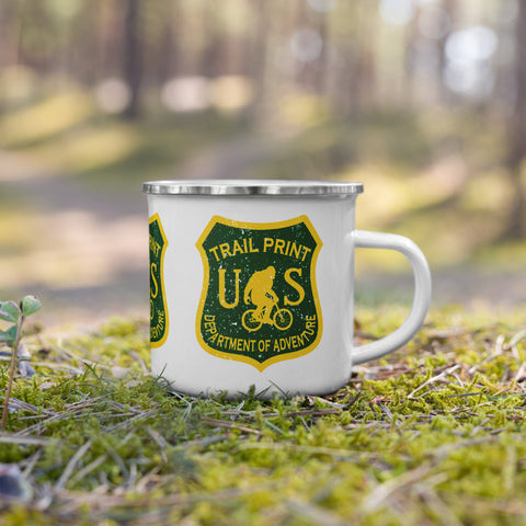 Department of Adventure Camping Mug