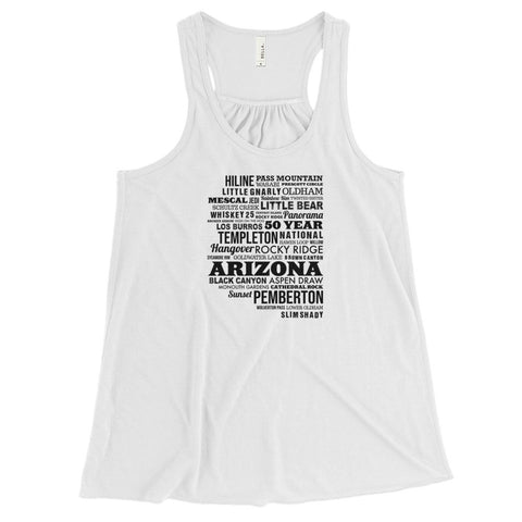 AZ Trails Women's Flowy Racerback Tank