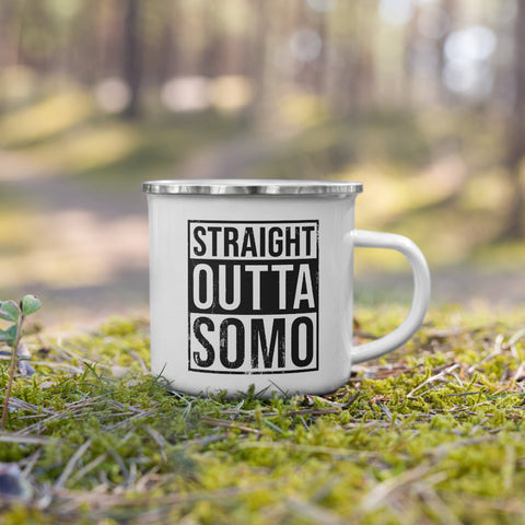 Straight Out of SoMo Camping Mug