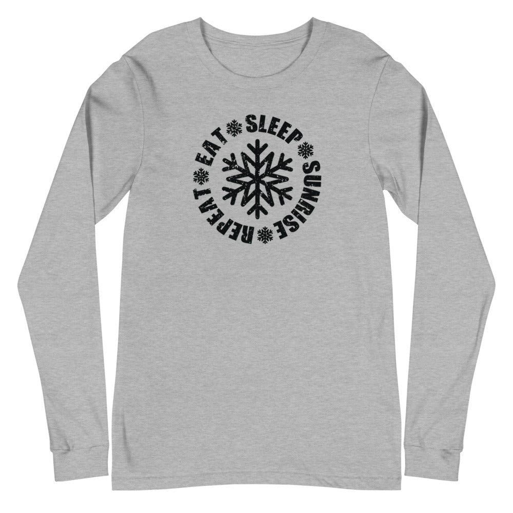 Eat Sleep Sunrise Repeat Long Sleeve