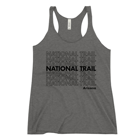National Trail Racerback Tank (BLK)