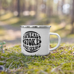 Spread Stoke Not Germs Camping Mug