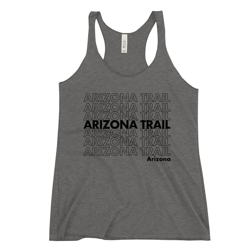 Arizona Trail Racerback Tank (BLK)