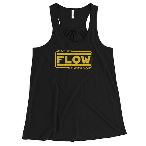 May the Flow Women's Flowy Racerback Tank