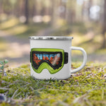 Shred the Red Camping Mugs
