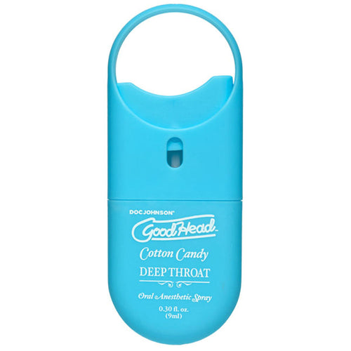 Goodhead - Deep Throat Spray to-Go - Cotton Candy - 0.30 Fl. Oz. DJ1360-59-CD