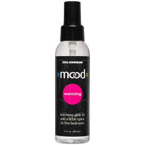 Mood - Warming Glide - 4 Fl. Oz. - Bulk DJ1362-07-BU
