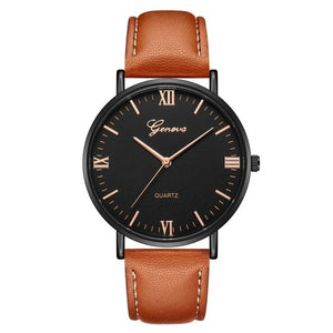 Handsome mens executive fashion watch with military quartz movement.  Reloj para hombre elegante, ejecutivo con movimiento militar de cuarzo.de