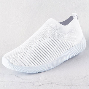 Ladies' Comfort Knitted Mesh Sport Shoe
