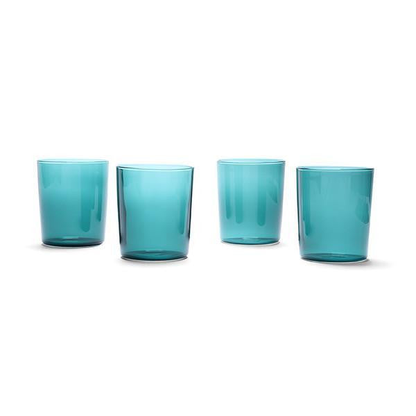 Maison Balzac Goblets - Teal (set of 4)