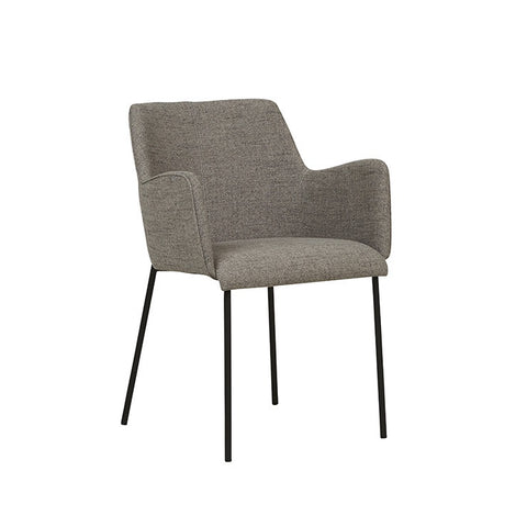 Malcom Arm Chair - Cloud Grey