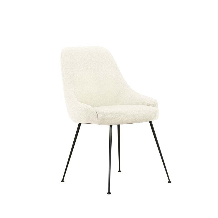 Dane Dining Chair - Snow Boucle
