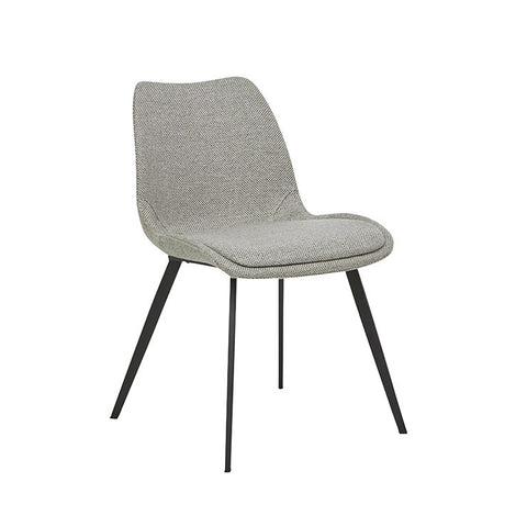 Isaac Dining Chair - Woven Putty