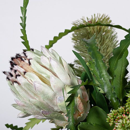 Banksia Protea Mix in Vase