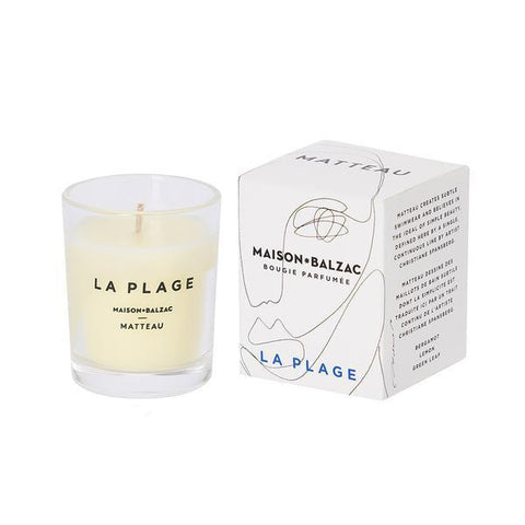La Plage Candle (mini) by Maison Balzac