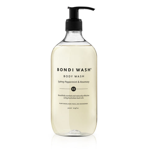 Sydney Peppermint and Rosemary Body Wash - Bondi Wash - Established for Design