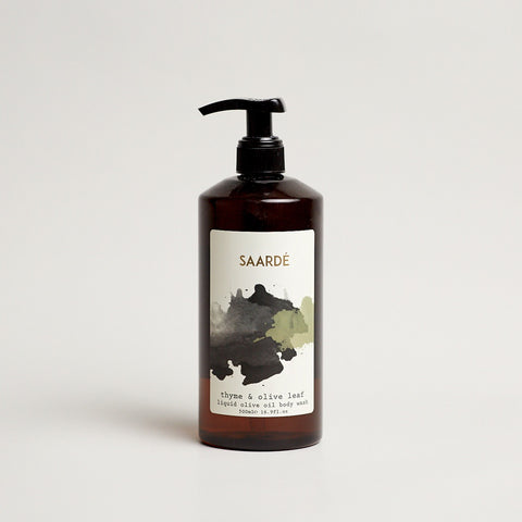 Olive Oil Body Wash - Thyme and Olive Leaf
