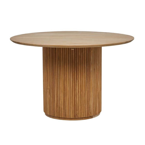 Tully Round Dining Table - Natural