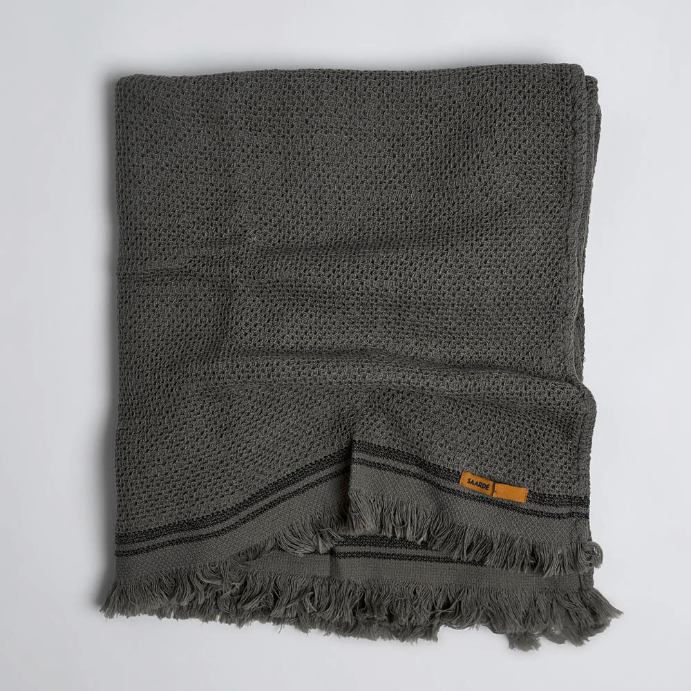 Nurture Towels - Charcoal