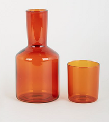 Carafe & Glass (Amber) by Maison Balzac
