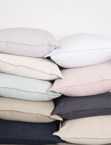 Linen Pillowcase Set - Musk