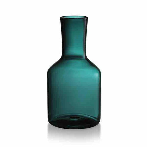 Carafe and Glass (Teal) by Maison Balzac