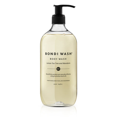 Lemon Tea Tree and Mandarin Body Wash - Bondi Wash - Established for Design