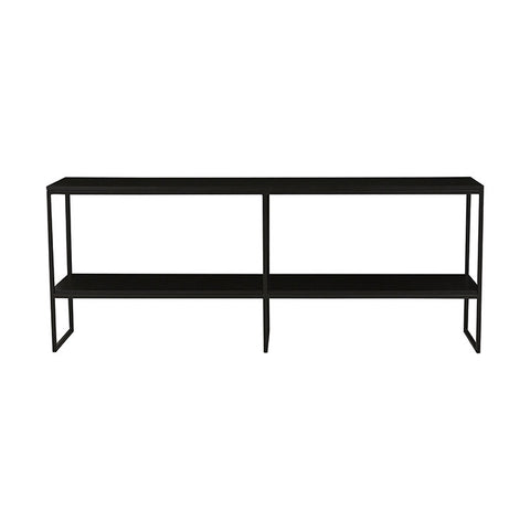 Baxter Shelf Console - Dark Wenge