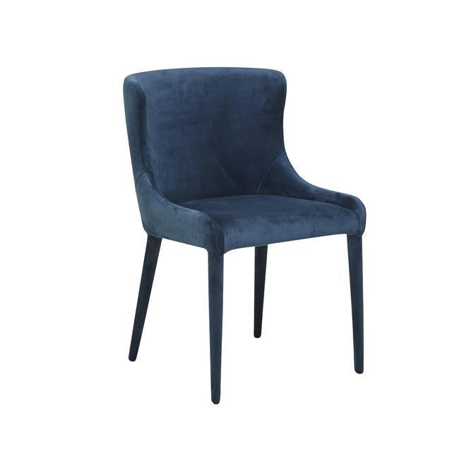 Claudia Chair - Navy Velvet