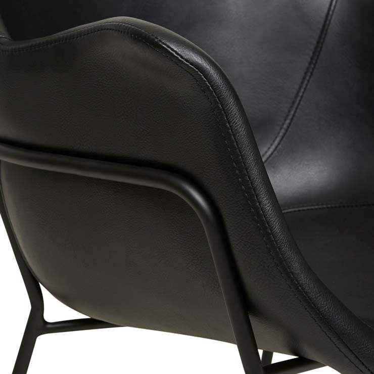 Etta Arm Chair - Vintage Black