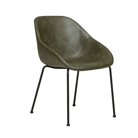 Ronald Arm Chair - Vintage Green
