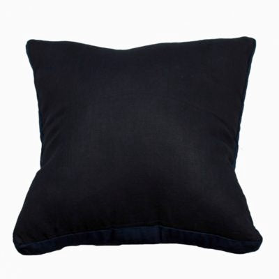 Essential Linen Cushion - French Navy