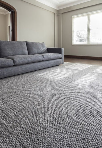 Drake Rug - Anthracite by Bayliss